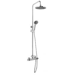 Banio Design-Huros Colonne de douche en laiton chromé - 88x42x9cm