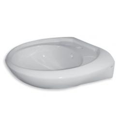 Banio Ifit Lavabo en porcelaine Blanc - 55x44,5x17,5cm
