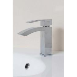 Banio Kello Robinet Lave-mains carré sans crépine - Chromé