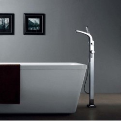 Banio-Design-Flo Mitigeur baingoire sur pieds Chromé