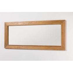 Miroir pour meuble de salle de Banio-flamant Couleur: Chêne clair Hauteur 70 Largeur 160 Profondeur 3,8