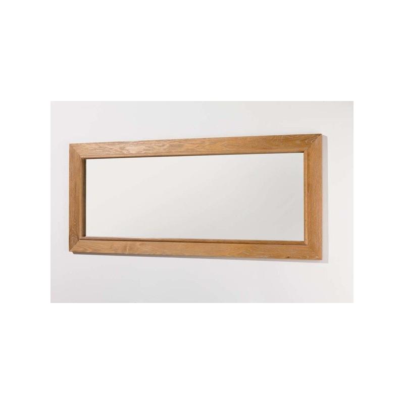 Miroir pour meuble de salle de Banio-flamant Couleur: Chêne clair ...