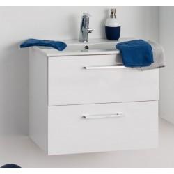 Meuble de salle de bain Banio-Dago Blanc - 50x59x45,6 cm