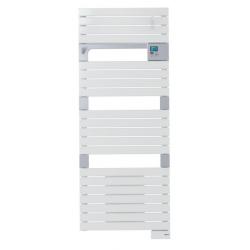 Banio-Asama Radiateur sèche-serviettes électrique Blanc 750 Watt - 55x141cm