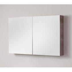 Miroir avec armoire pour meuble de salle de bain Banio-Dante Nebraska - 67x140x15 cm