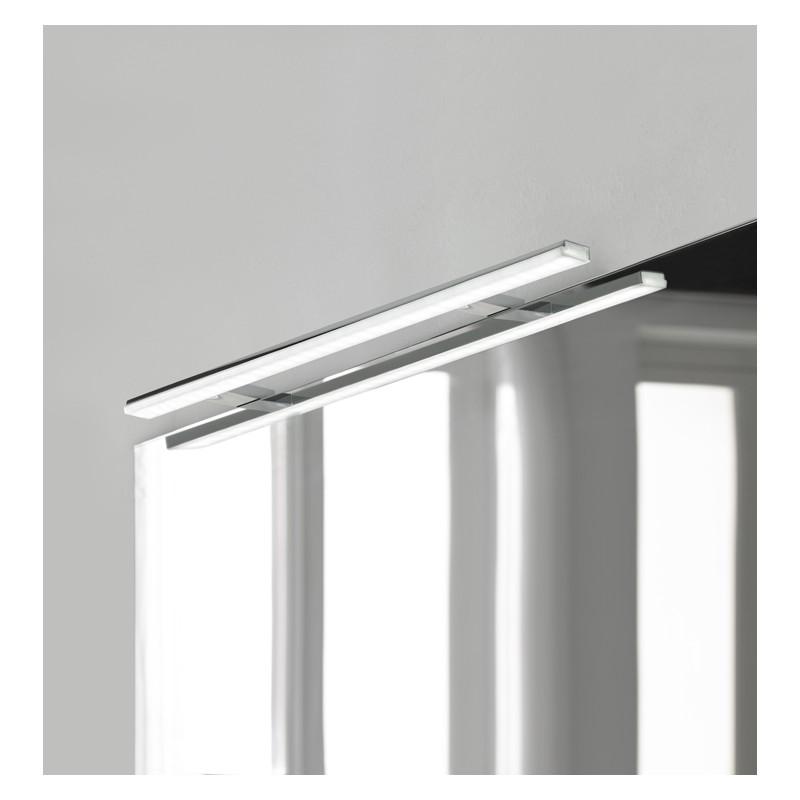 Badkamerverlichting Led Voor Kastspiegel Banio Pandora Chroom 808 Cm Breed 15w 1700lm