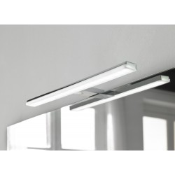 Eclairage LED Banio-Pandora pour armoire/miroir Chromé - Largeur 45,8 cm, 10W, 757Lm