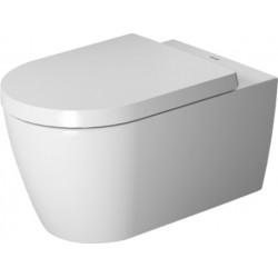 Duravit starck wc suspendu blanc rimless® avec abattant soft-close