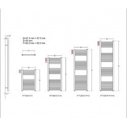 radiateur s che serviette 180x40 cm chauffage centrale blanc banio. Black Bedroom Furniture Sets. Home Design Ideas