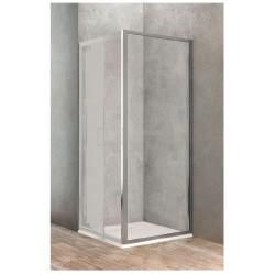 Paroi fixe latérale de 80 cm pour porte de douche