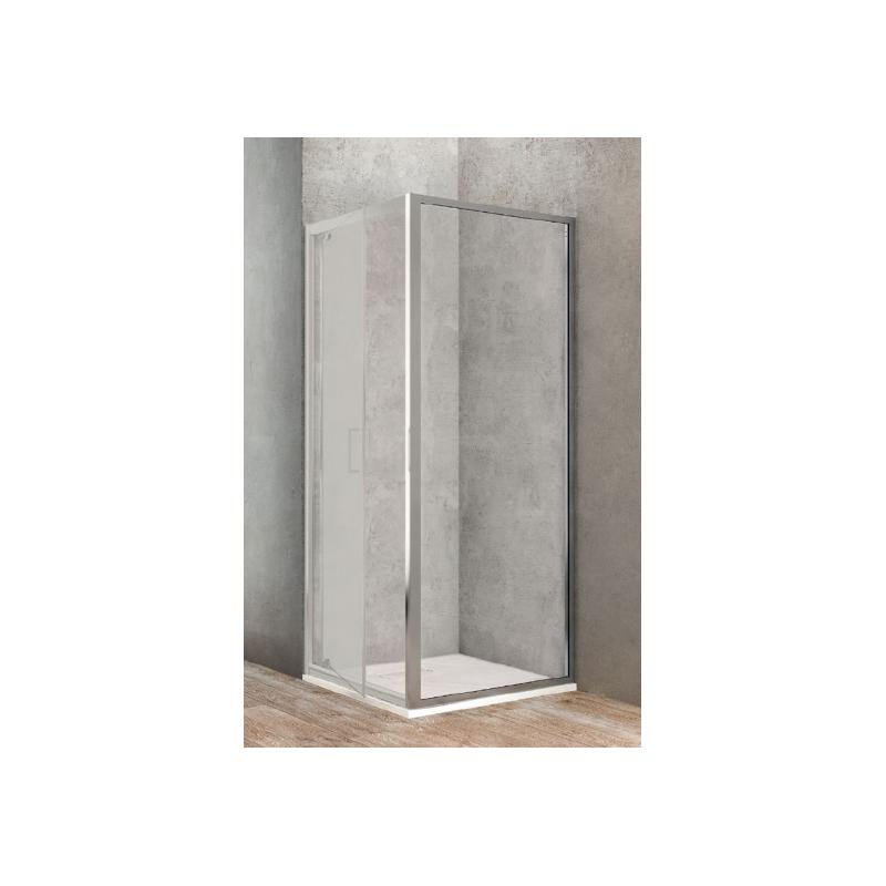 ponsi paroi fixe laterale de 90 cm banio salle de bain. Black Bedroom Furniture Sets. Home Design Ideas