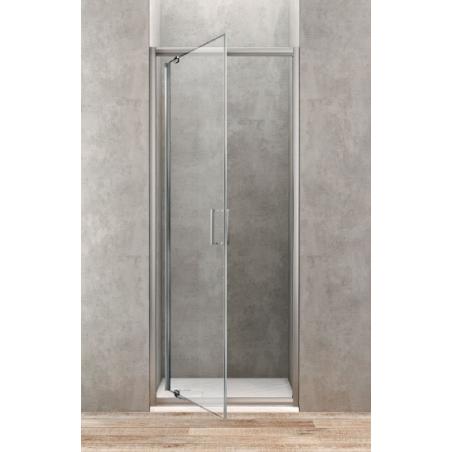 ponsi porte de douche pivotante de 70 cm banio salle de bain. Black Bedroom Furniture Sets. Home Design Ideas