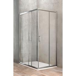 Ponsi Paroi de douche rectangulaire avec porte coulissante 70x100 cm