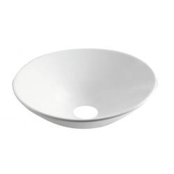 Design Juna Inbouw wastafel 430 Rond - Wit