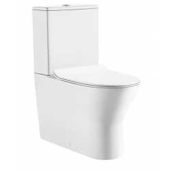 Design Tina Pack wc Staand toilet porselein met geberit mechanisme - Wit