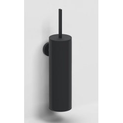 Clou Flat Porte brosse wc à suspendre avec brosse - Mat noir