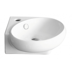 Banio Design Hapy Handwasbak 36x38,5 cm - Wit