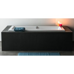 Banio Design Harpor Baignoire à encastrer 80x180 cm - Blanc