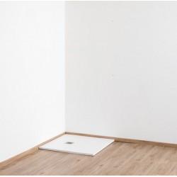Banio Design Minimalisme Receveur de douche 90x90 cm - Blanc