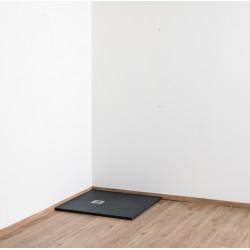 Banio Design Minimalisme Douchebak 90x90 cm - Zwart