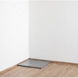 Banio Design Minimalisme Receveur de douche 90x90 cm - Gris