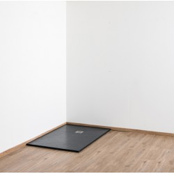 Banio Design Minimalisme Douchebak 120x90 cm - Zwart