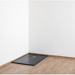 Banio Design Minimalisme Receveur de douche 120x90 cm - Noir