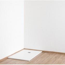 Banio Design Minimalisme Receveur de douche 140x90 cm - Blanc