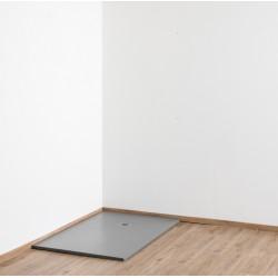 Banio Design Minimalisme receveur de douche 140x90 cm - Gris