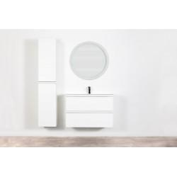 Banio Design Desiro Meuble salle de bain 90 cm - Blanc