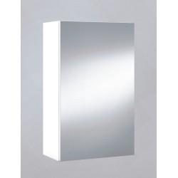 Banio Design Armoire à miroir 40 cm - Blanc