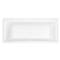 Banio Aristas Rechthoekig bad in acryl 170x75 cm - Wit
