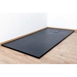 Banio Moba Receveur de douche en SMC 180x90 cm - Noir mat