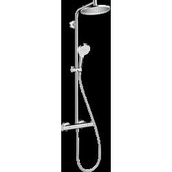 Hansgrohe Crometta S Set de douche 240 1jet avec thermostatique - Chromé