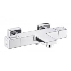 Banio Hozal mitigeur de baignoire-douche thermostatique avec cooltouch - Chrome