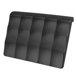 RIHO Hoofdkussen voor bad unisoft 25x16cm - Zwart