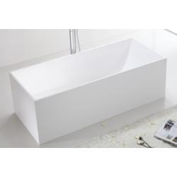 Banio Larra Baignoire solid surface 170x72 cm - Blanc