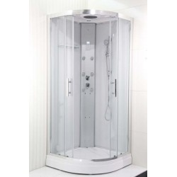 copy of Cabine de douche Hammam 90x90x225 cm - wit