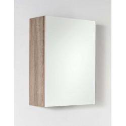 Armoire avec miroir Nado chêne 40x53cm