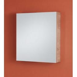 Armoire à miroir Danto chêne aspect béton 70x67cm