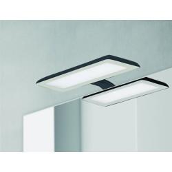 Banio éclairage LED pour salle de bain Nikito - 30cm, 10W noir mat