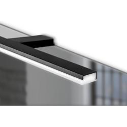 Badkamerverlichting Pandor zwart 458mm