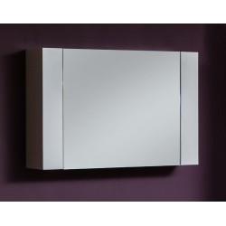 Armoire à miroir Jam 80x53cm blanc