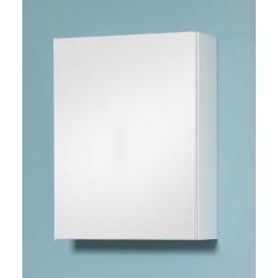 Armoire à miroir Nadi 40x53x15cm blanc laqué