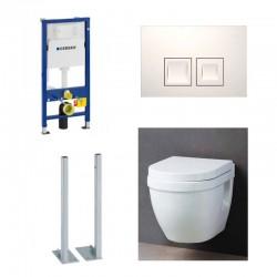 Geberit autoportant Pack WC suspendu Complet duofix avec cuvette soft-close