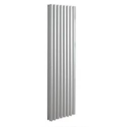 Banio radiateur ovale design vertical 180x48cm 1836w blanc