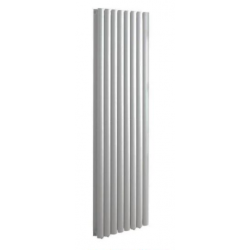 Banio radiateur ovale design vertical 180x60cm 2295w blanc