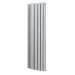 Banio radiateur carré design vertical 180,8x49,7cm 2097w blanc
