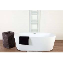 Banio baignoire à poser Amal 177x80x60cm blanc mat