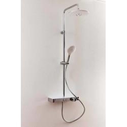 Banio colonne de douche thermostatique Kami - chrome